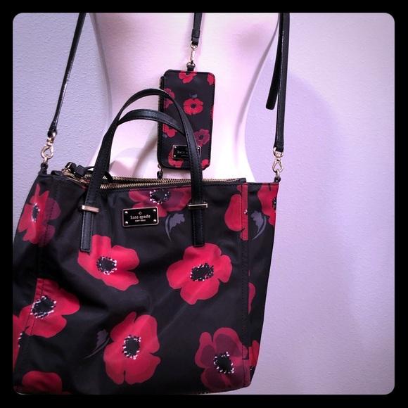 kate spade Handbags - Kate Spade Poppy Landyard and matching purse